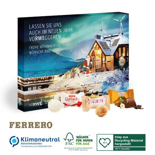 Wand-Adventskalender Ferrero