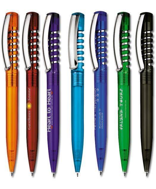 Beispiele Senator New Spring Kugelschreiber