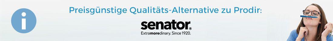 Senator als Alternative für Prodir Kugelschreiber