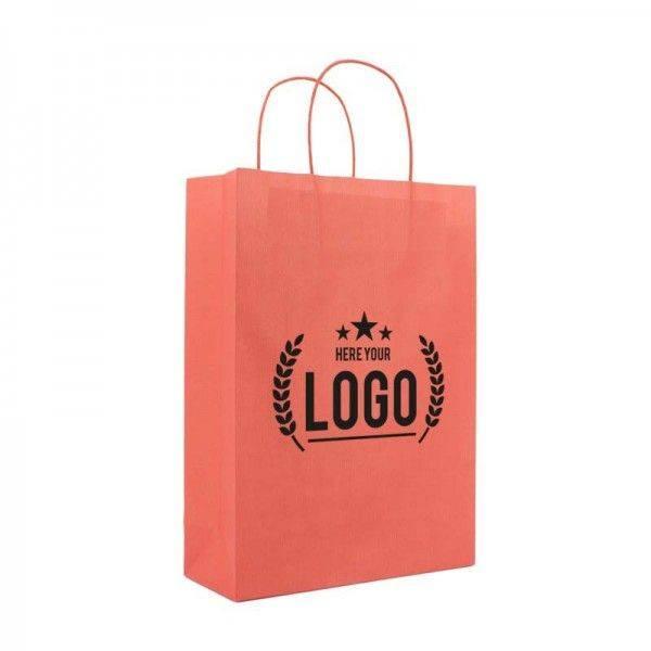 Papiertasche mit gedrehte Kordel