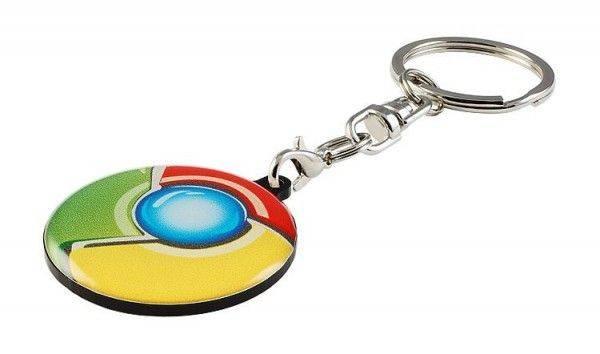Schlüsselanhänger Hard Single Doming