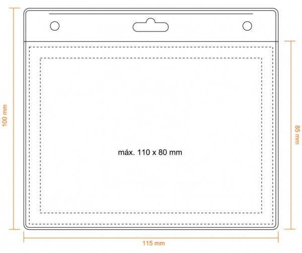 Kartenhalter 110 x 80 mm