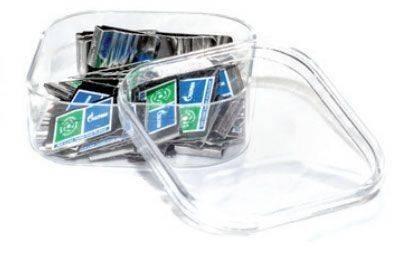 Transparente Geschenkbox groß