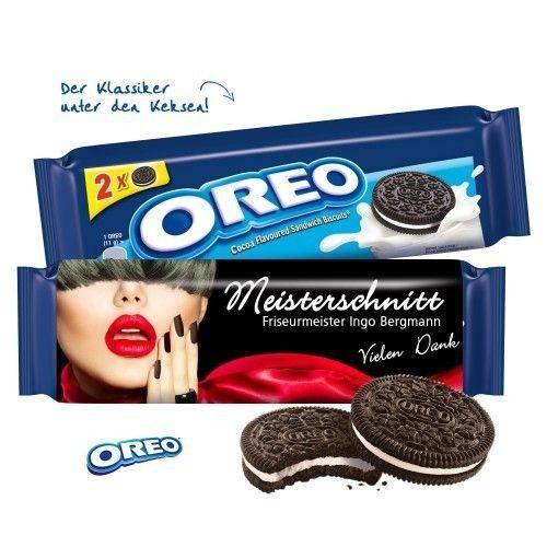 Oreo 2er-Pack mit Werbebanderole