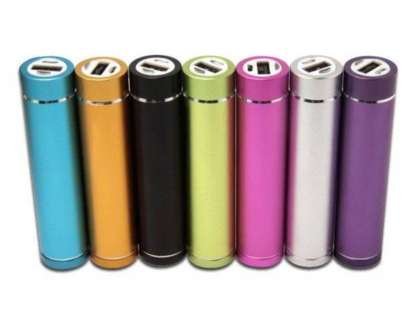 Lipstick Battery LED 2200 mAh