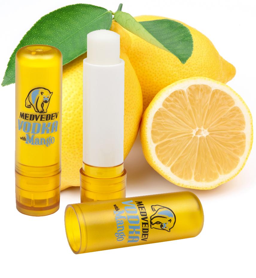 Zitrone-Lippenbalsam
