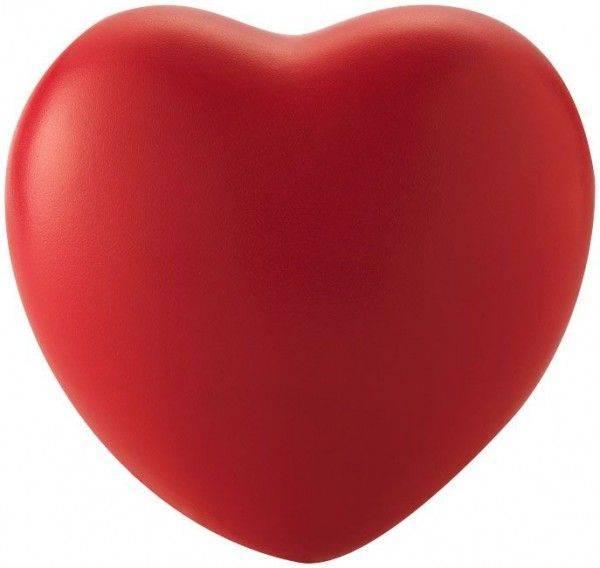 Herzförmiger Anti-Stressball