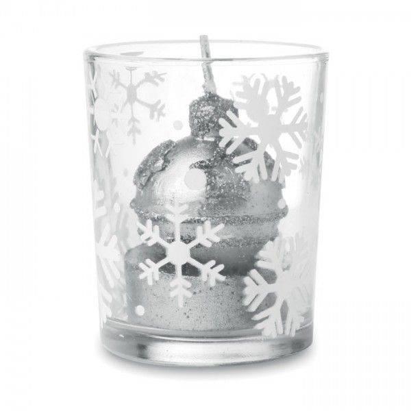 GLITTERIE Teelichthalter aus Glas Unbedruckt