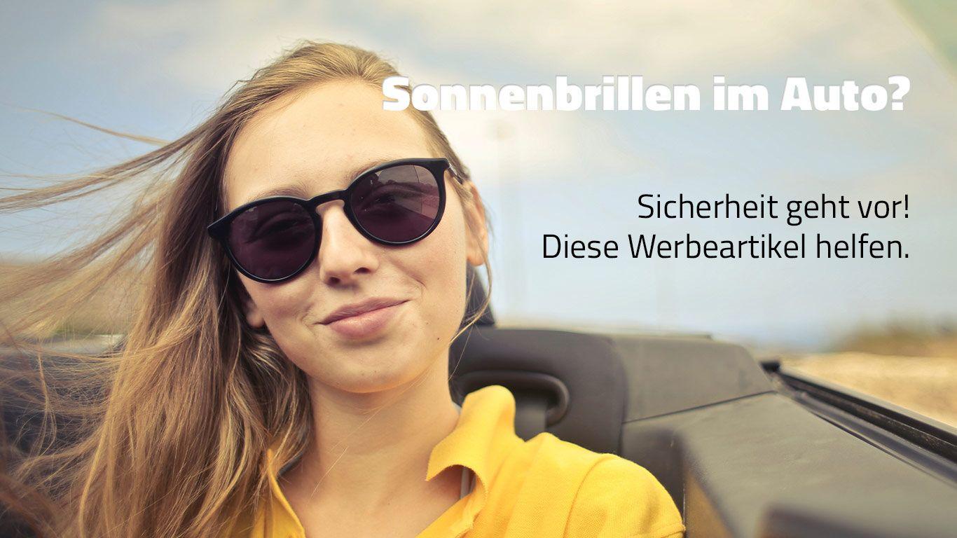 Nie mehr bei der Autofahrt geblendet werden Dank Sonnenbrillen mit Ihrem Logo.