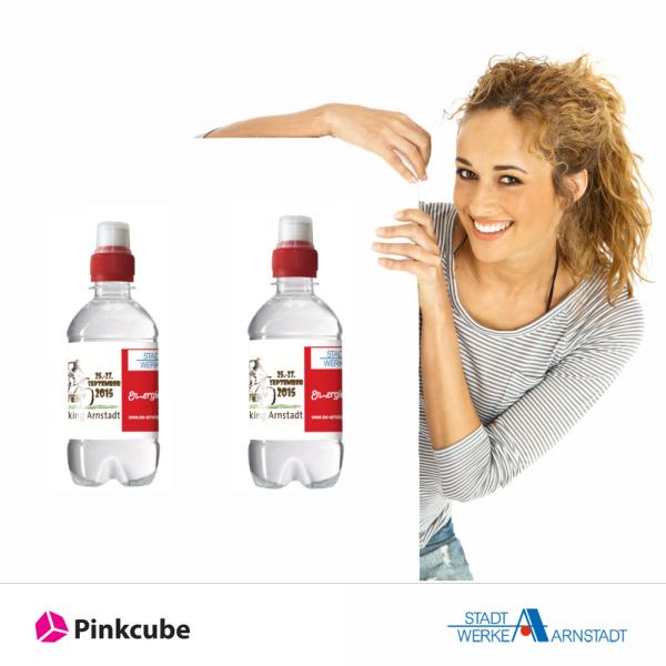 Wasserflaschen-bedrucken