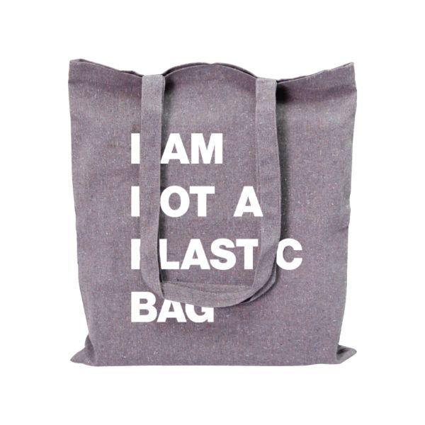 Recycelte Tasche aus Baumwolle
