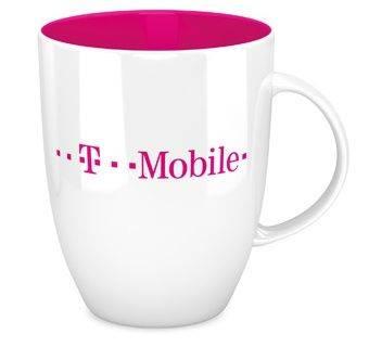 T-Mobile Werbetasse bedruckt