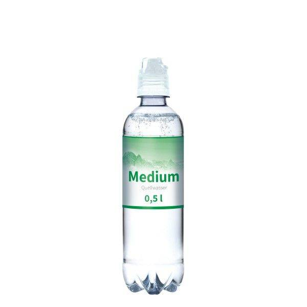 500 ml Wasserflasche Sport medium