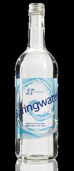 Glaswasserflasche 750 ml ohne Pfand