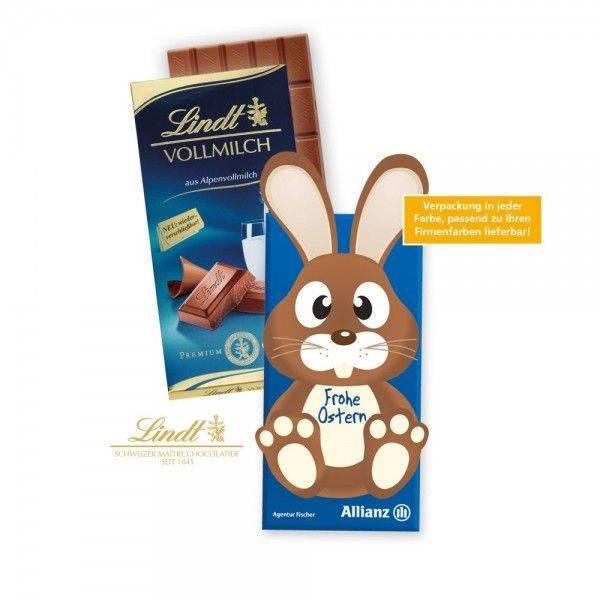 """Schokoladentafel """"Osterhase"""" oder """"Osterei"""" von Lindt"""