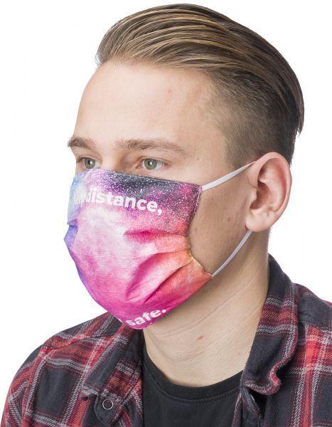 Wiederverwendbare Gesichtsmaske mit Aufdruck