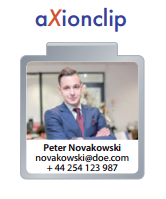 Personal Clips Büroklammern