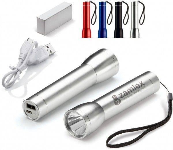 Powerbank Taschenlampe 2200 mAh