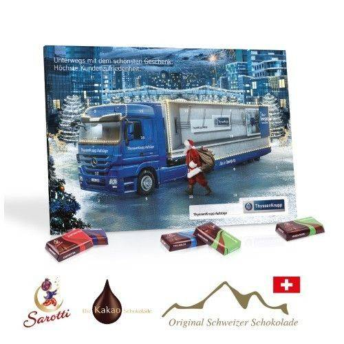 Tisch-Adventskalender Business Exklusiv