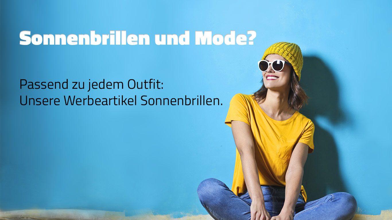 Sonnenbrillen bedrucken mit Ihrem Logo - passend zu jedem Outfit.
