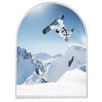 Eiskratzer Bogen Weiss