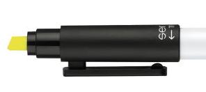 Duo-Pen-Textmarker-Werbekugelschreiber
