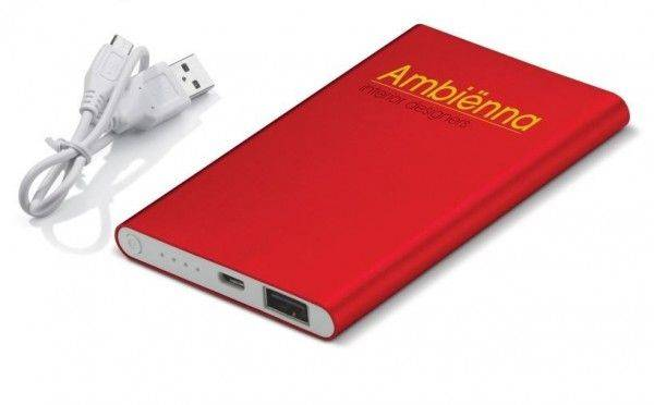 Powerbank Slim 4000 mAh