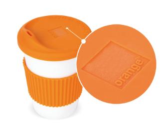 Play & Go Kaffeebecher Beispiel Lasergravur