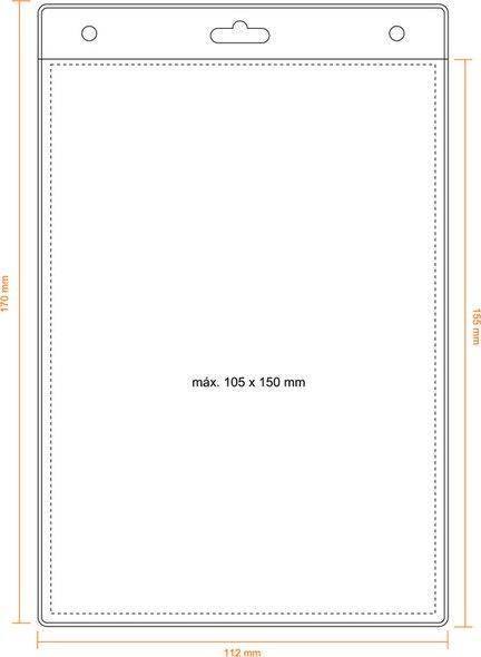 Kartenhalter 105 x 150 mm