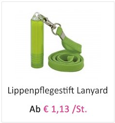 Lippenpflegestift-Lanyard