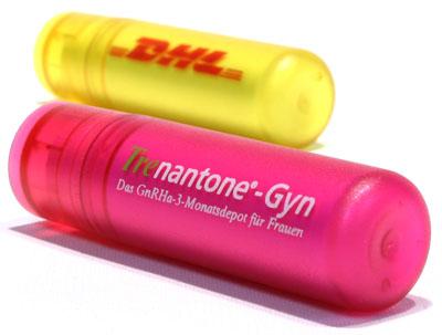 Lippenpflegestift, ausführung Matt mit zweifarbigem Aufdruck